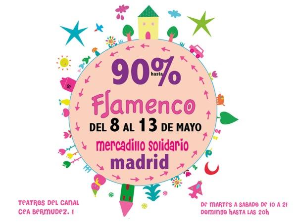 Mercadillo de Flamenco en Madrid, mayo