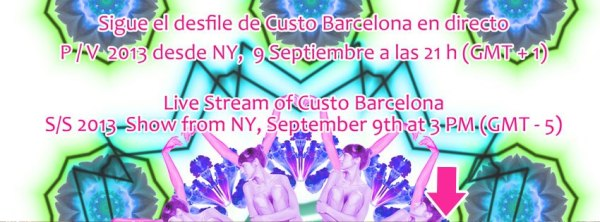 Hora desfile Custo Barcelona New York
